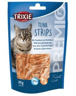 Snack Tuna Strips, 20 gr