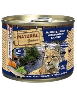 Natural Greatness salmón y...
