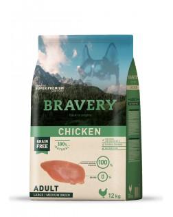 Bravery pollo para perros...