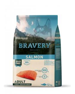 Bravery salmón para perros...