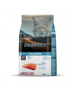 Bravery salmón para gatos...